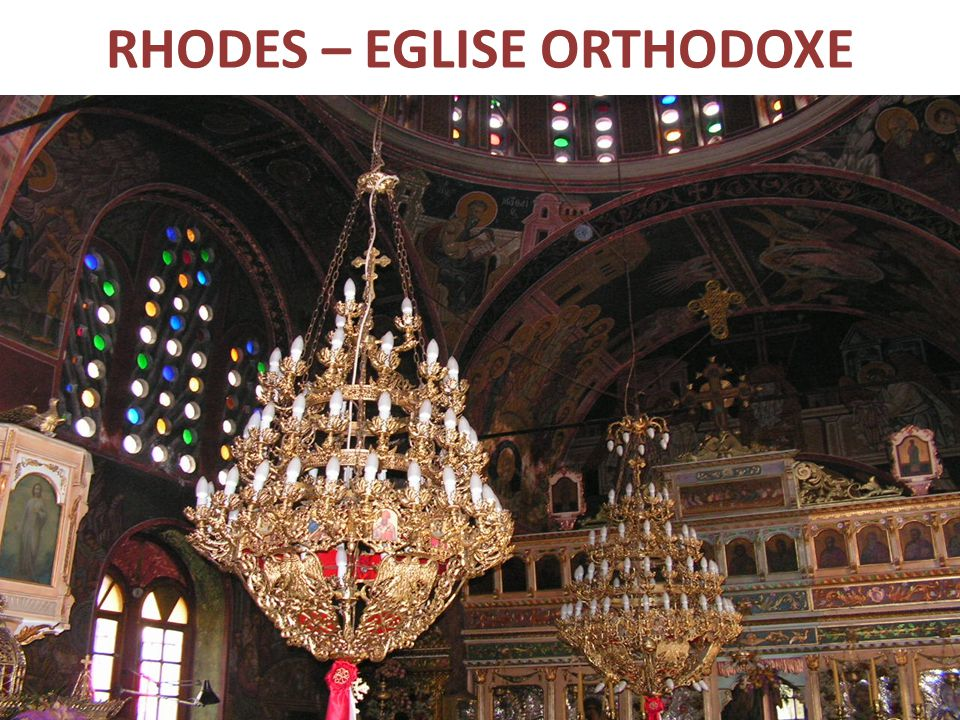 RHODES – EGLISE ORTHODOXE