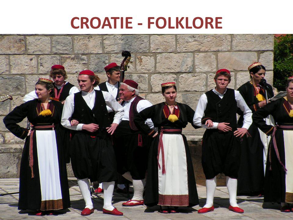 CROATIE - FOLKLORE