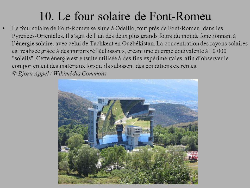 10. Le four solaire de Font-Romeu