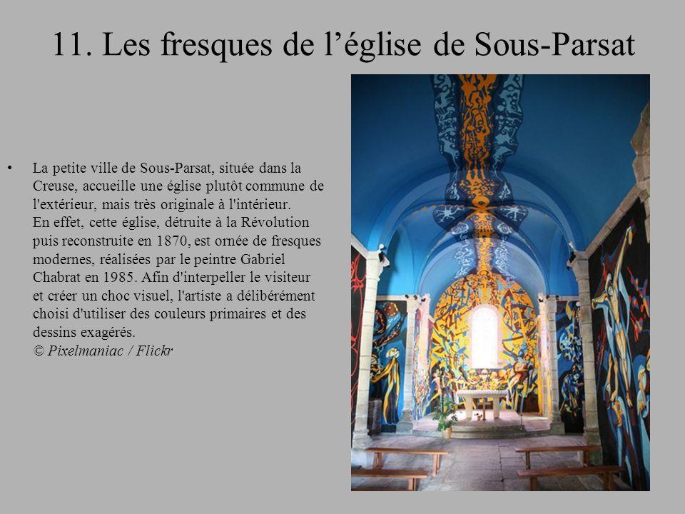11. Les fresques de l'église de Sous-Parsat