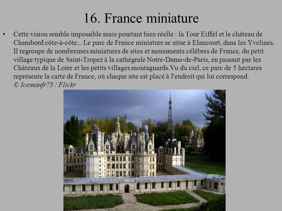 16. France miniature