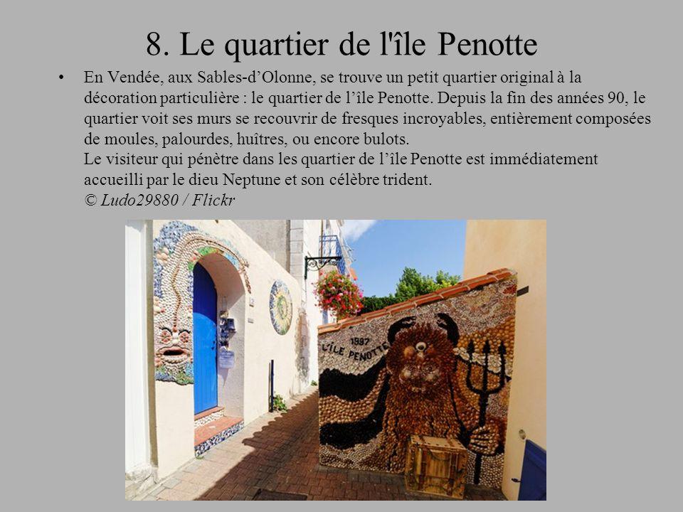 8. Le quartier de l île Penotte
