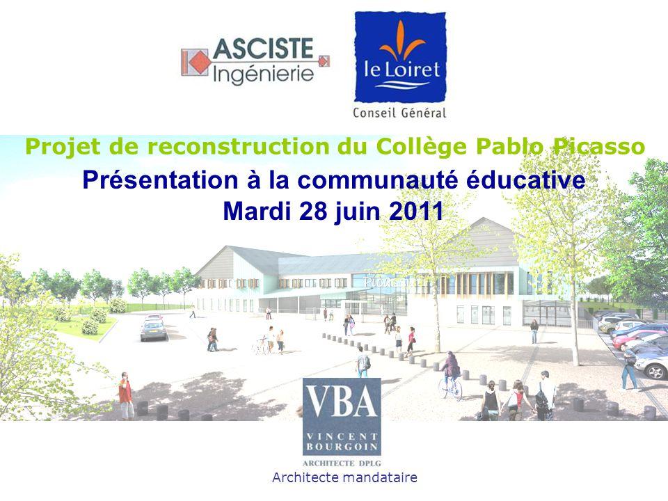 Présentation à la communauté éducative Mardi 28 juin 2011