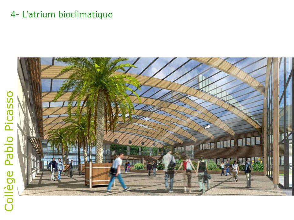 4- L'atrium bioclimatique