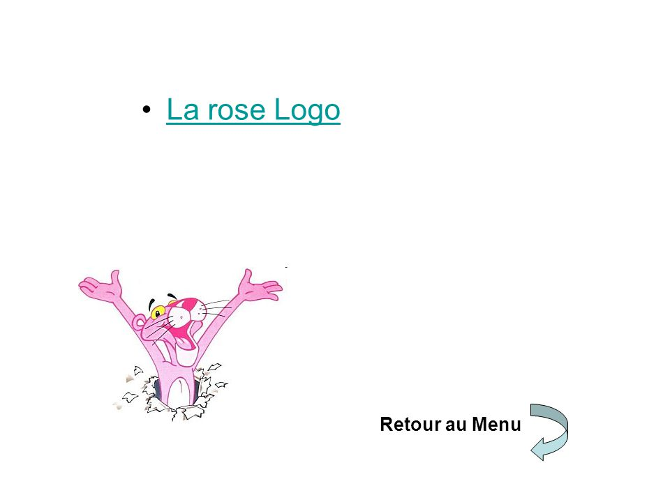 La rose Logo Retour au Menu