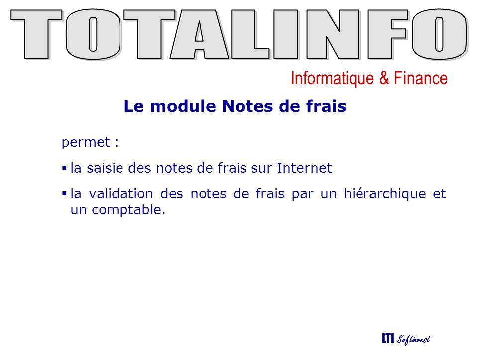 Le module Notes de frais