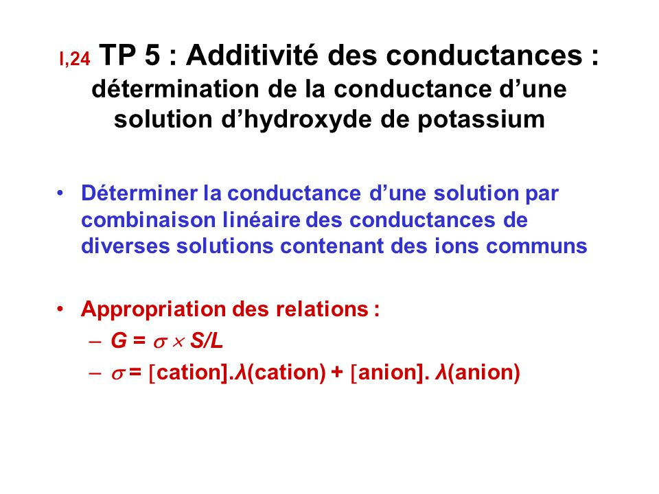 Appropriation des relations : G =   S/L