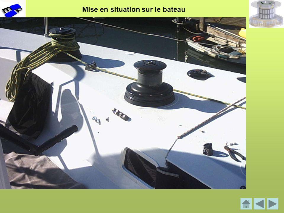 Mise en situation sur le bateau