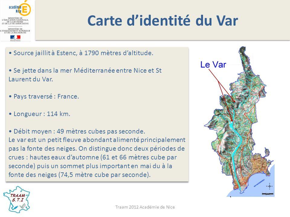 Carte d'identité du Var
