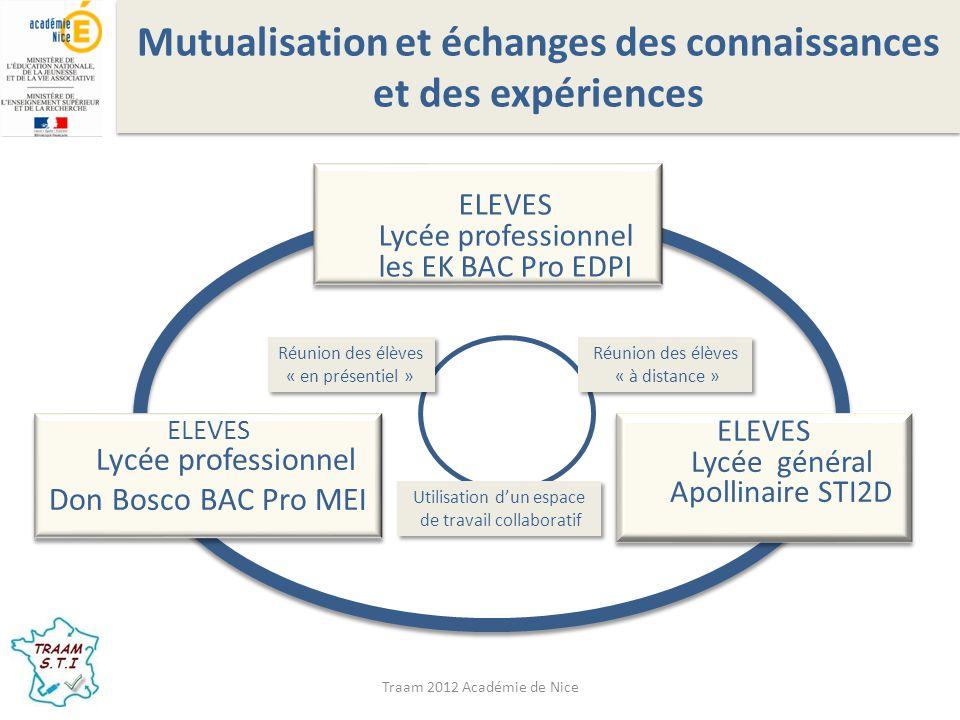 Mutualisation et échanges des connaissances et des expériences