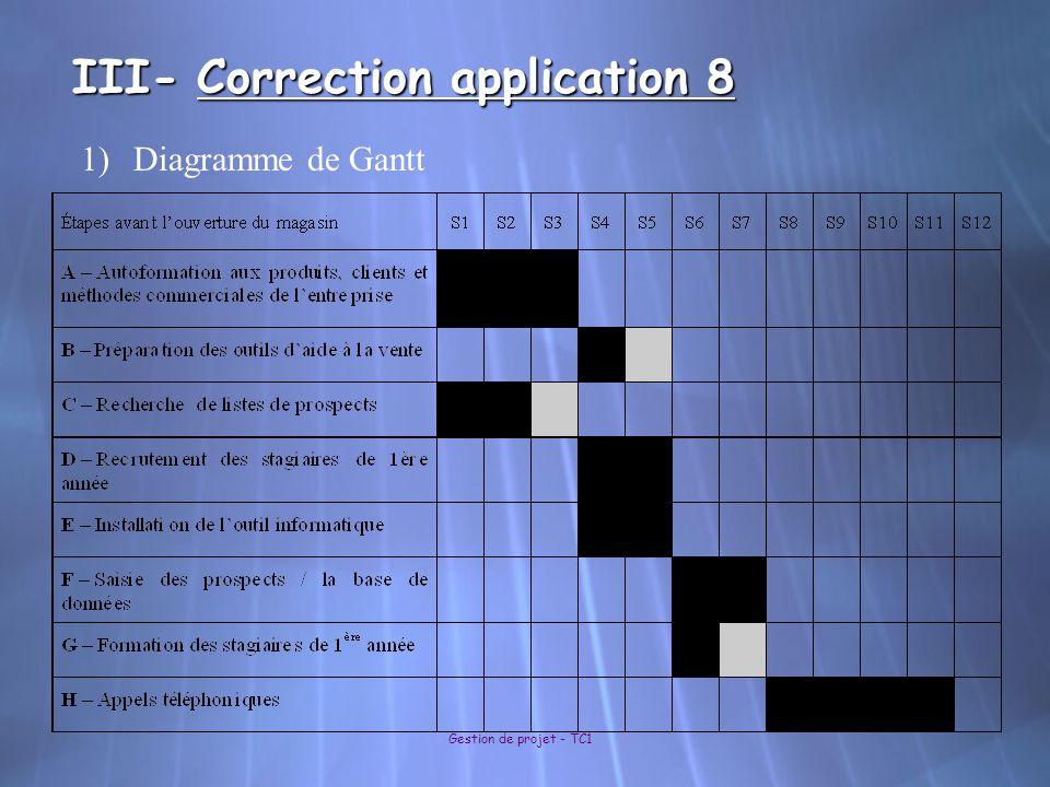III- Correction application 8