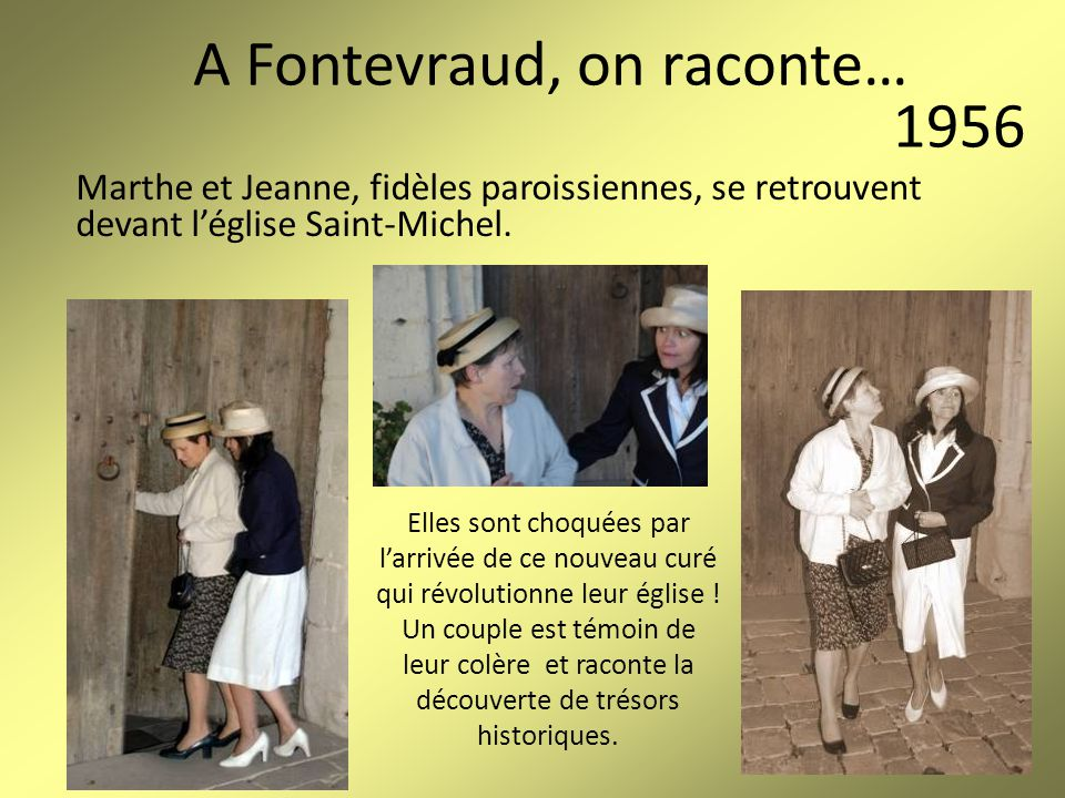 A Fontevraud, on raconte…