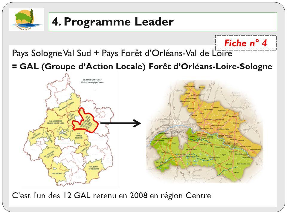 4. Programme Leader Fiche n° 4