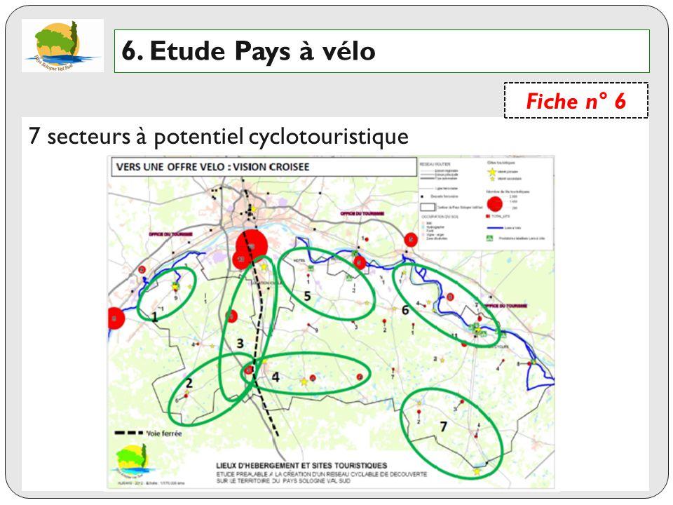 6. Etude Pays à vélo 7 secteurs à potentiel cyclotouristique