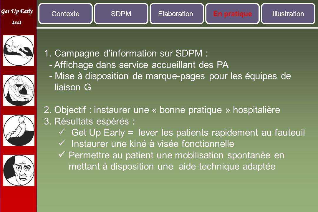 Campagne d'information sur SDPM :