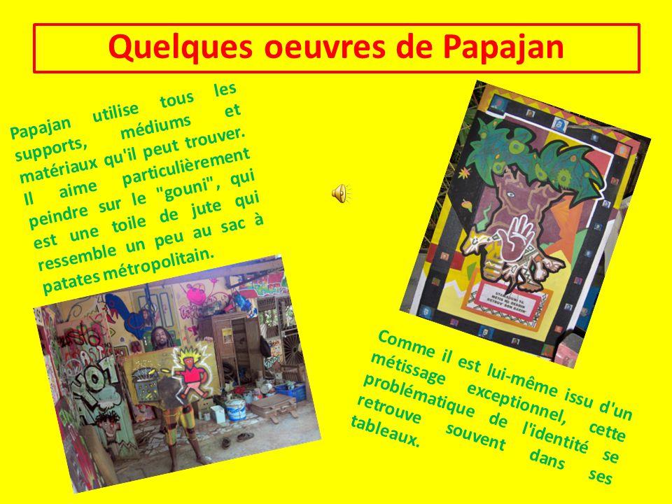 Quelques oeuvres de Papajan