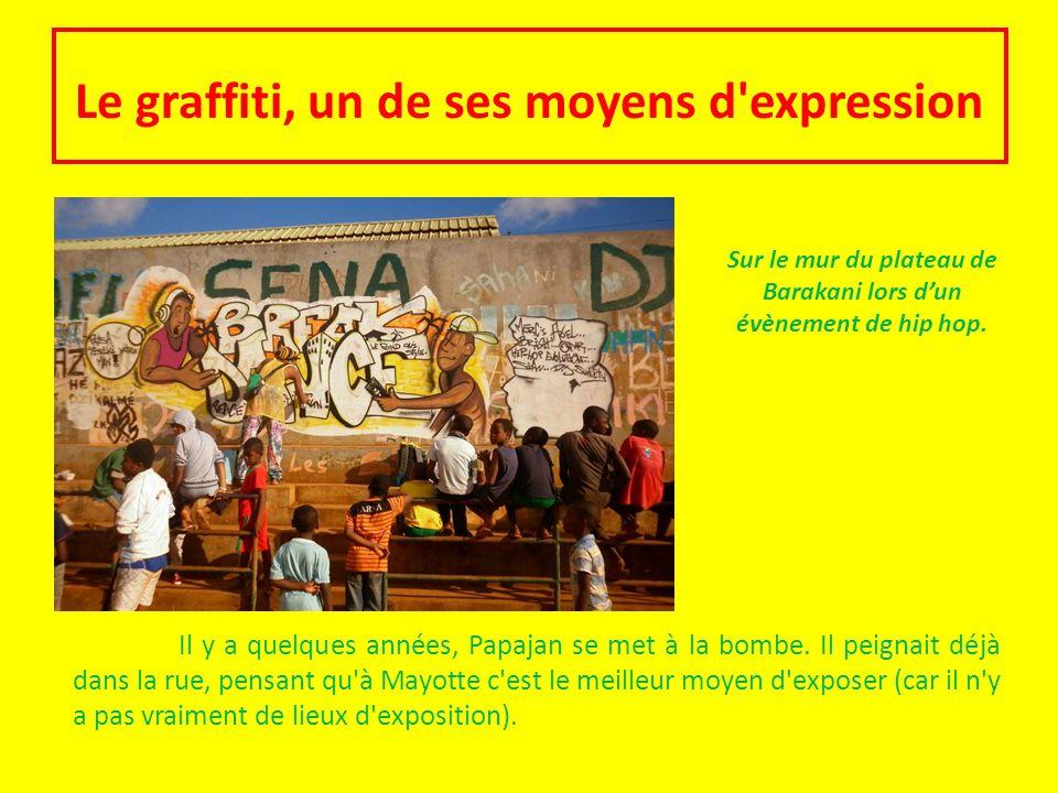 Le graffiti, un de ses moyens d expression