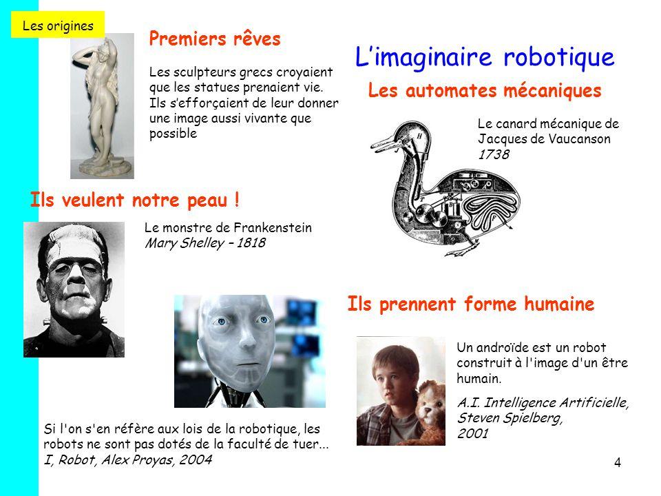 L'imaginaire robotique