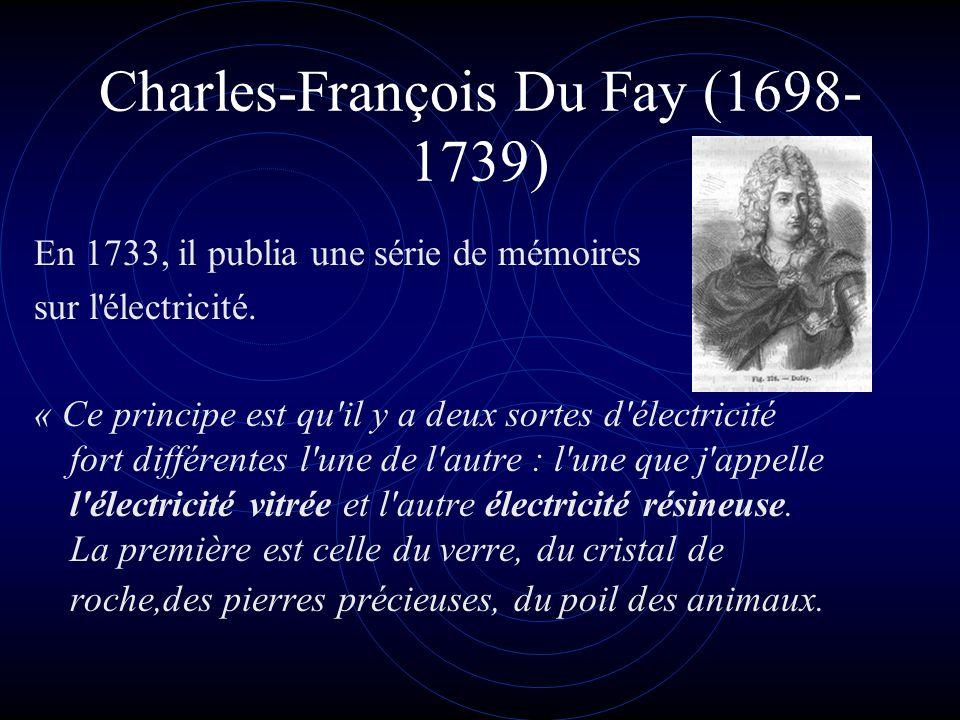 Charles-François Du Fay (1698-1739)