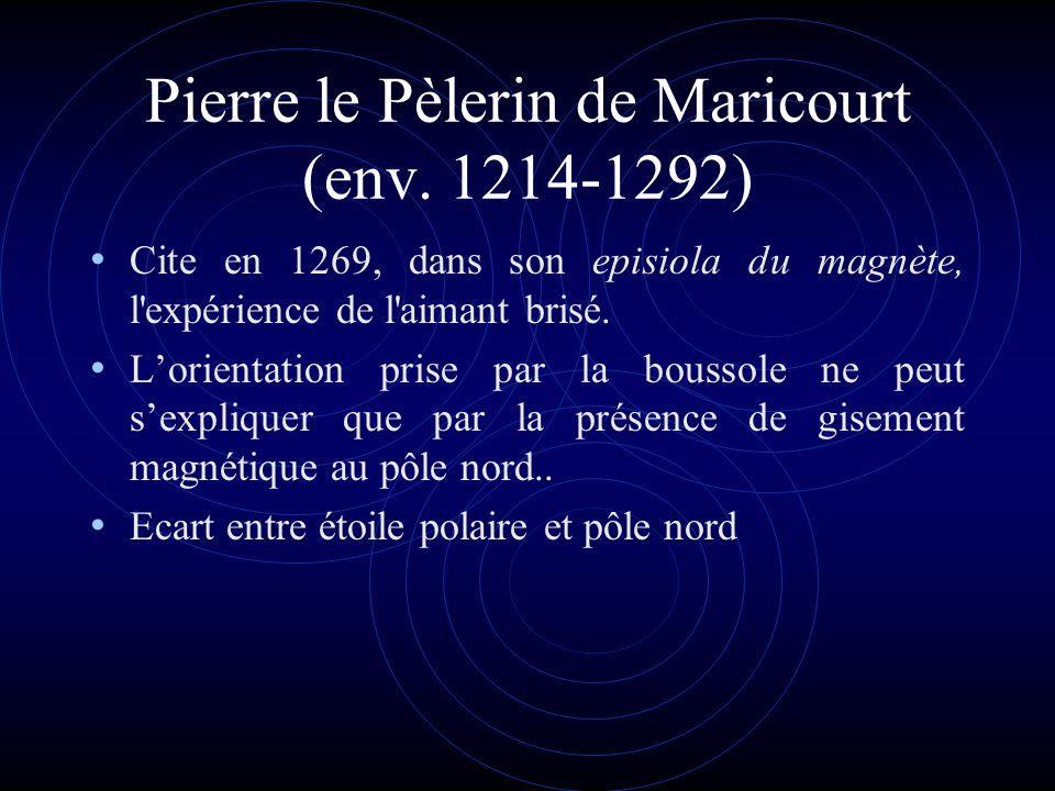 Pierre le Pèlerin de Maricourt (env. 1214-1292)
