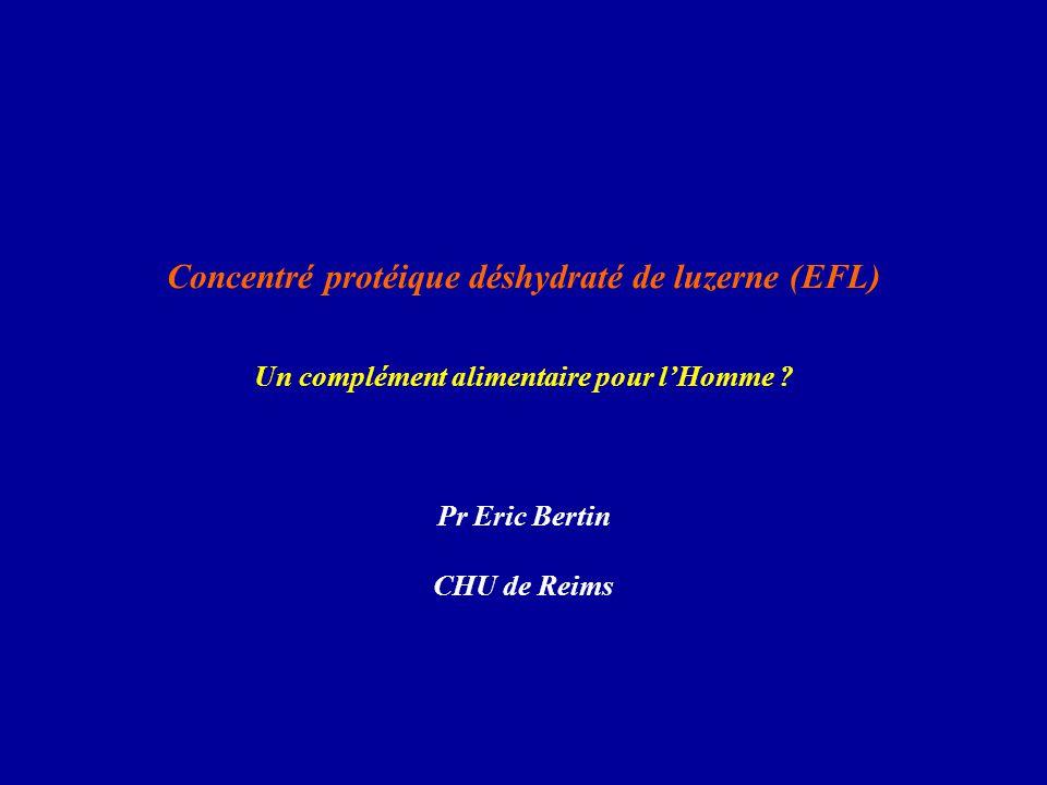 Concentré protéique déshydraté de luzerne (EFL)