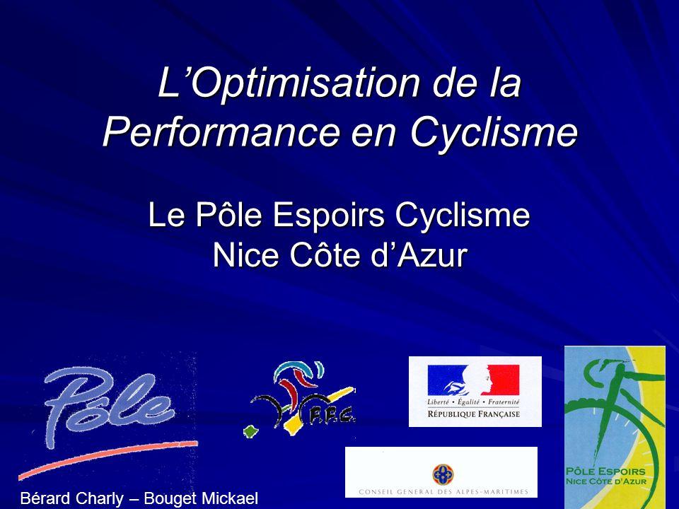 L'Optimisation de la Performance en Cyclisme