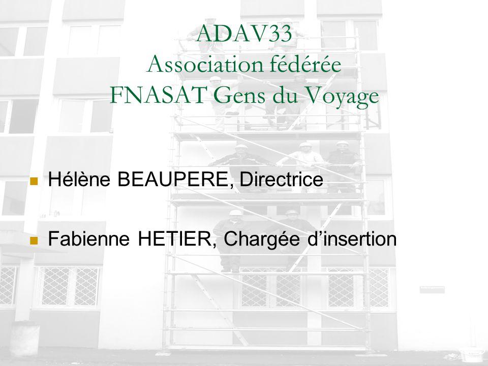 ADAV33 Association fédérée FNASAT Gens du Voyage