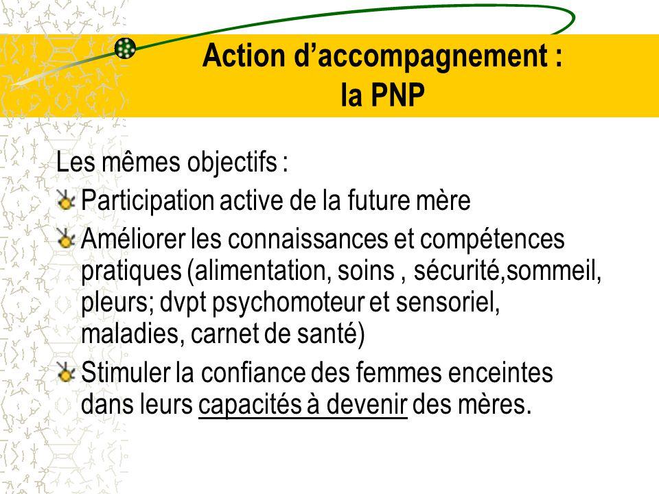 Action d'accompagnement : la PNP