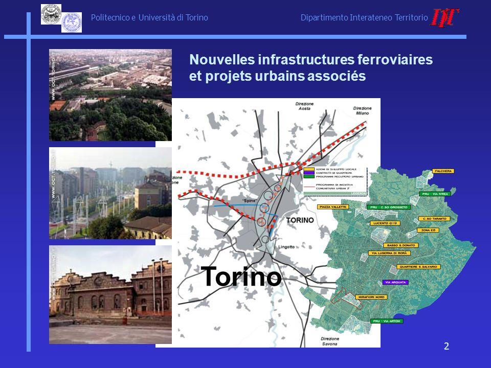 Nouvelles infrastructures ferroviaires et projets urbains associés