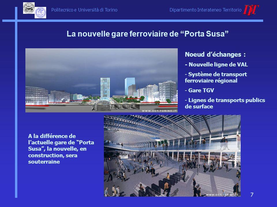 La nouvelle gare ferroviaire de Porta Susa