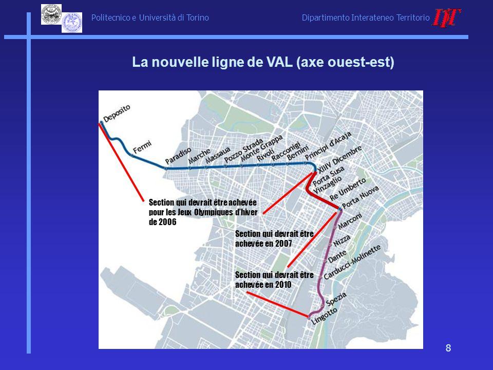 La nouvelle ligne de VAL (axe ouest-est)