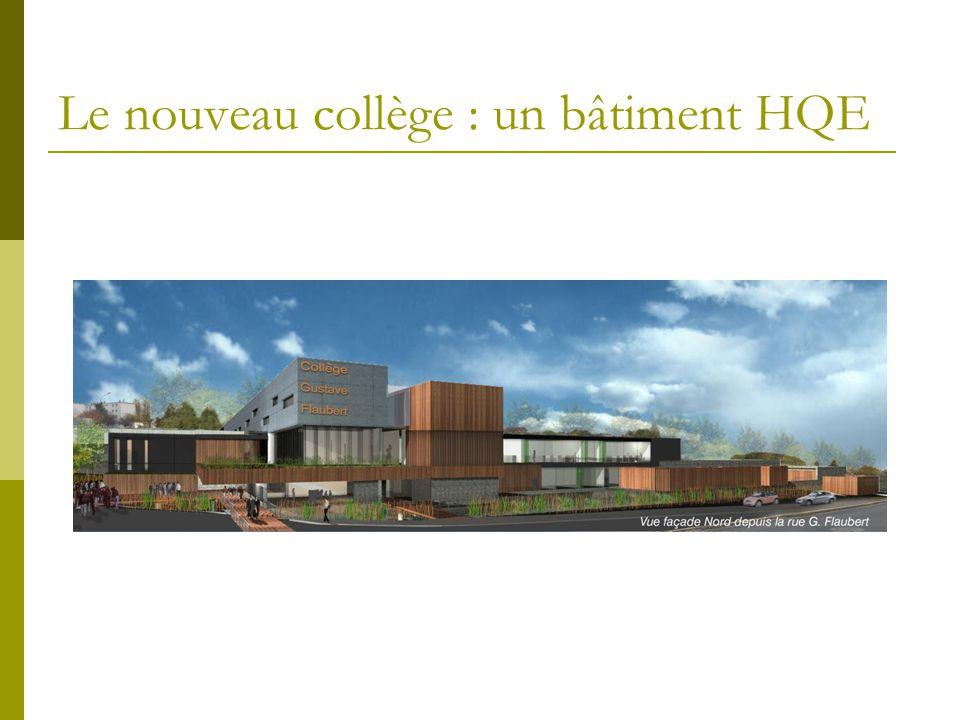 Le nouveau collège : un bâtiment HQE