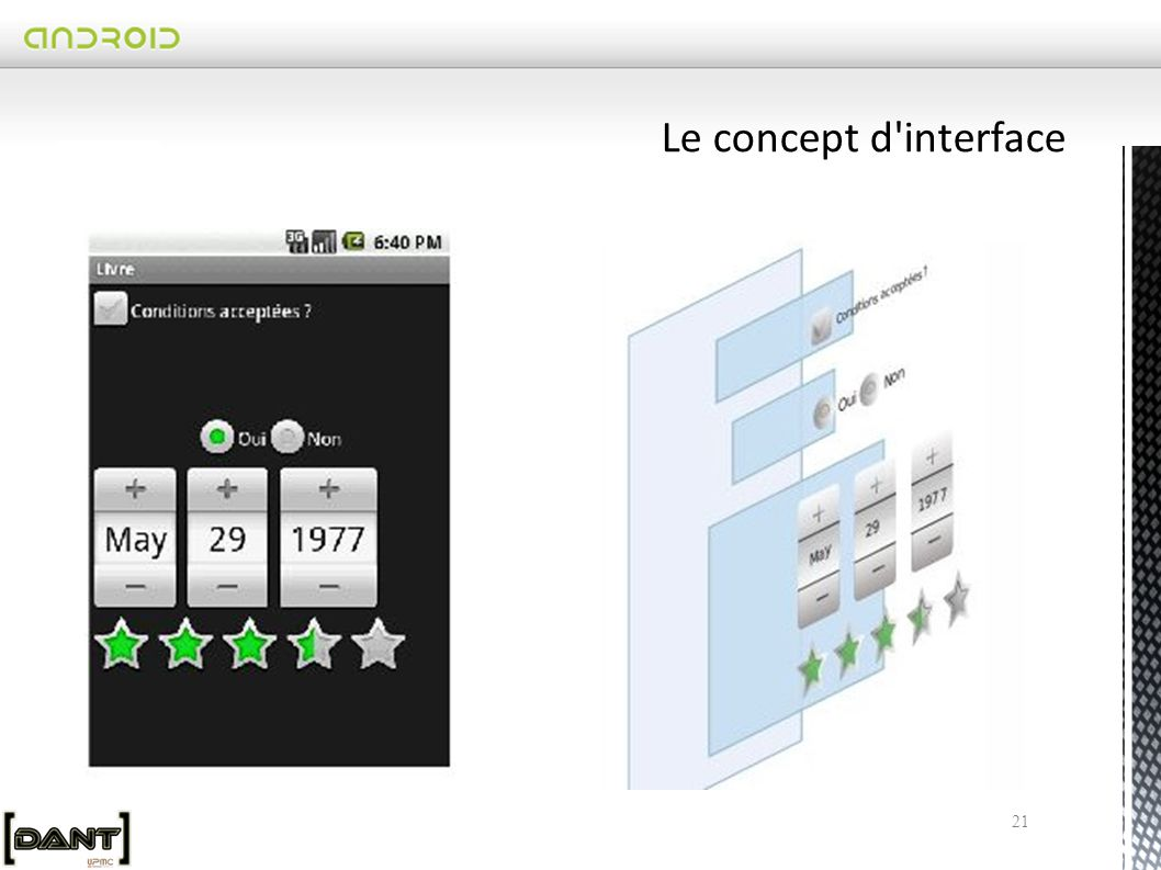 Le concept d interface