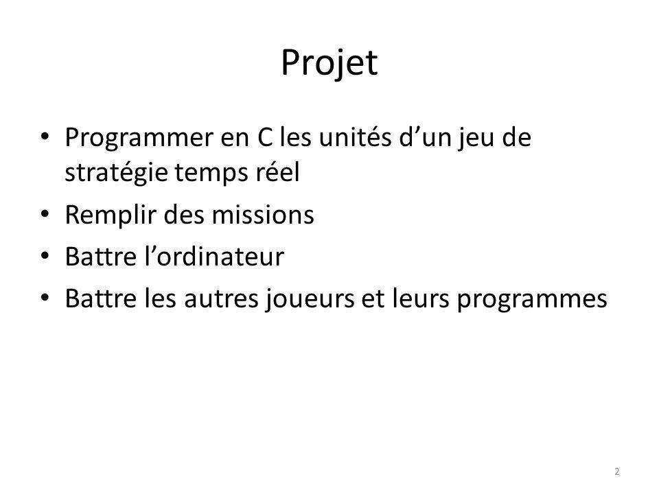 Projet Programmer en C les unités d'un jeu de stratégie temps réel