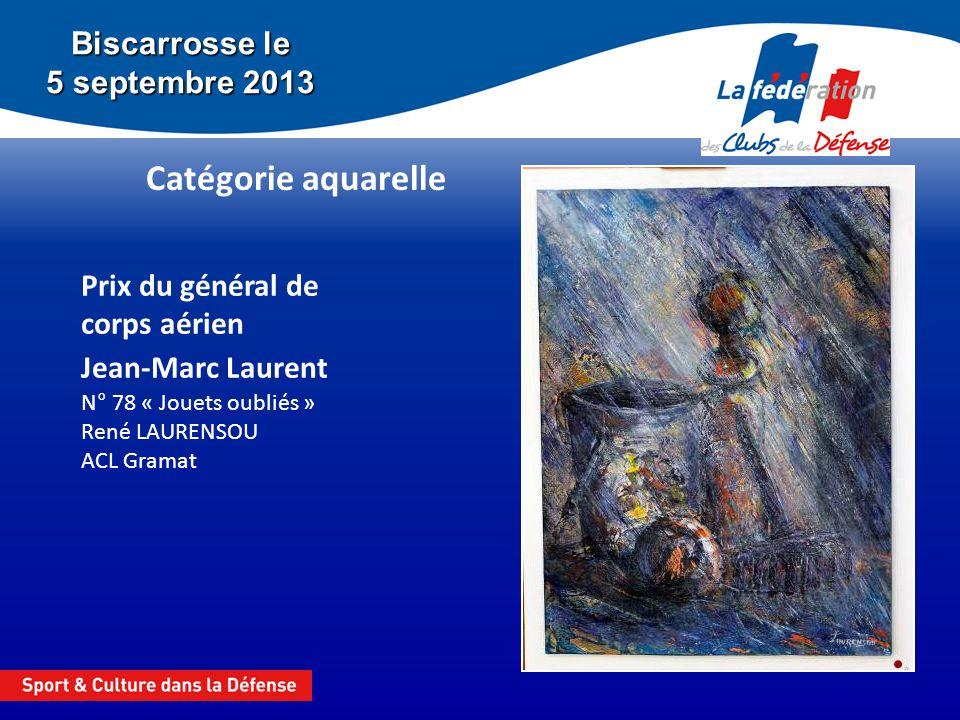 Catégorie aquarelle Biscarrosse le 5 septembre 2013