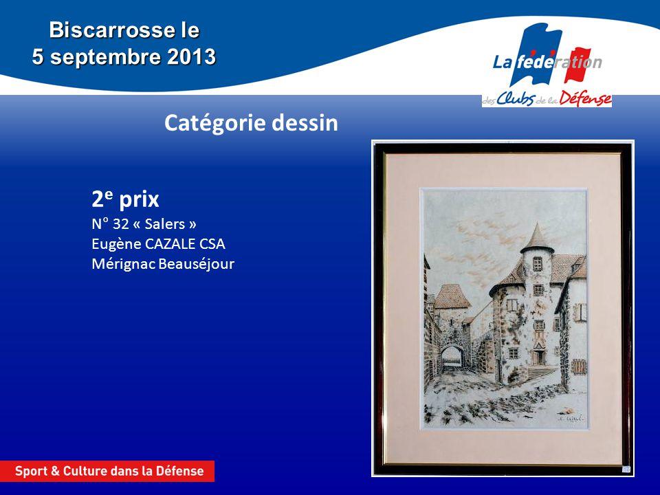 2e prix N° 32 « Salers » Eugène CAZALE CSA Mérignac Beauséjour
