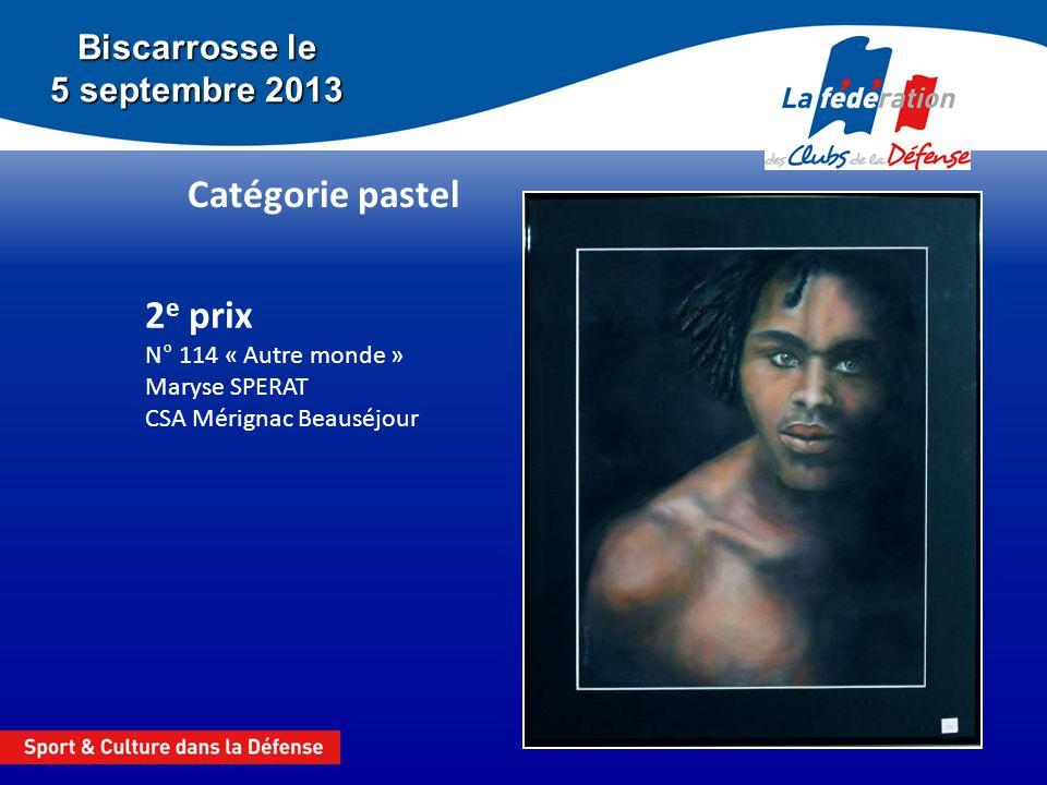 2e prix N° 114 « Autre monde » Maryse SPERAT CSA Mérignac Beauséjour