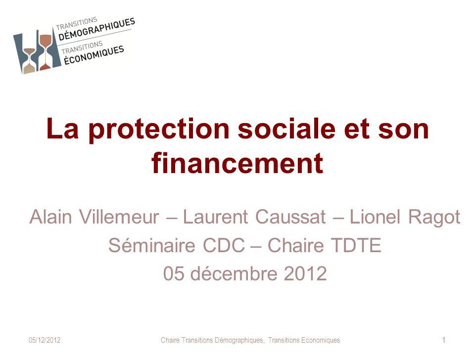 La protection sociale et son financement