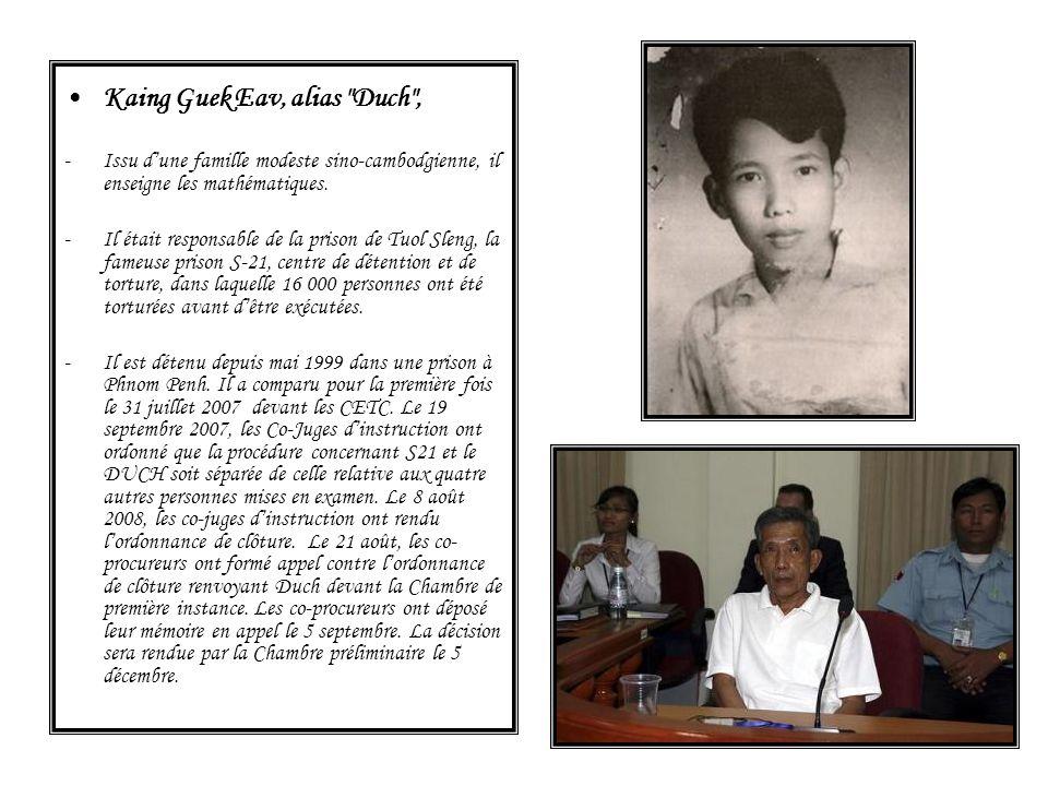 Kaing Guek Eav, alias Duch ,