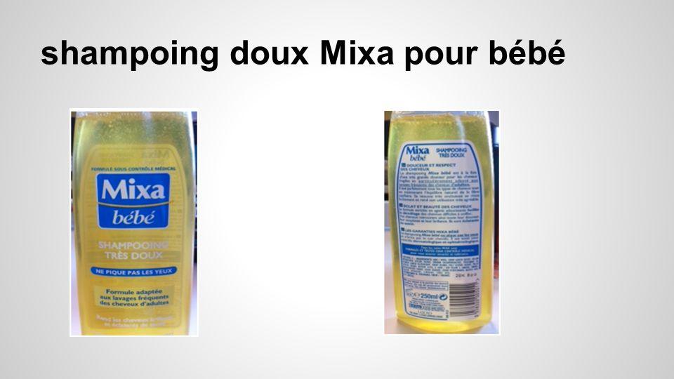 shampoing doux Mixa pour bébé