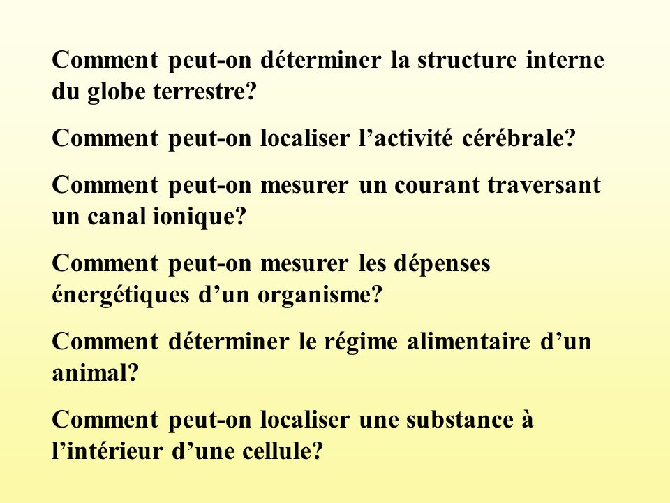 Comment peut-on déterminer la structure interne du globe terrestre