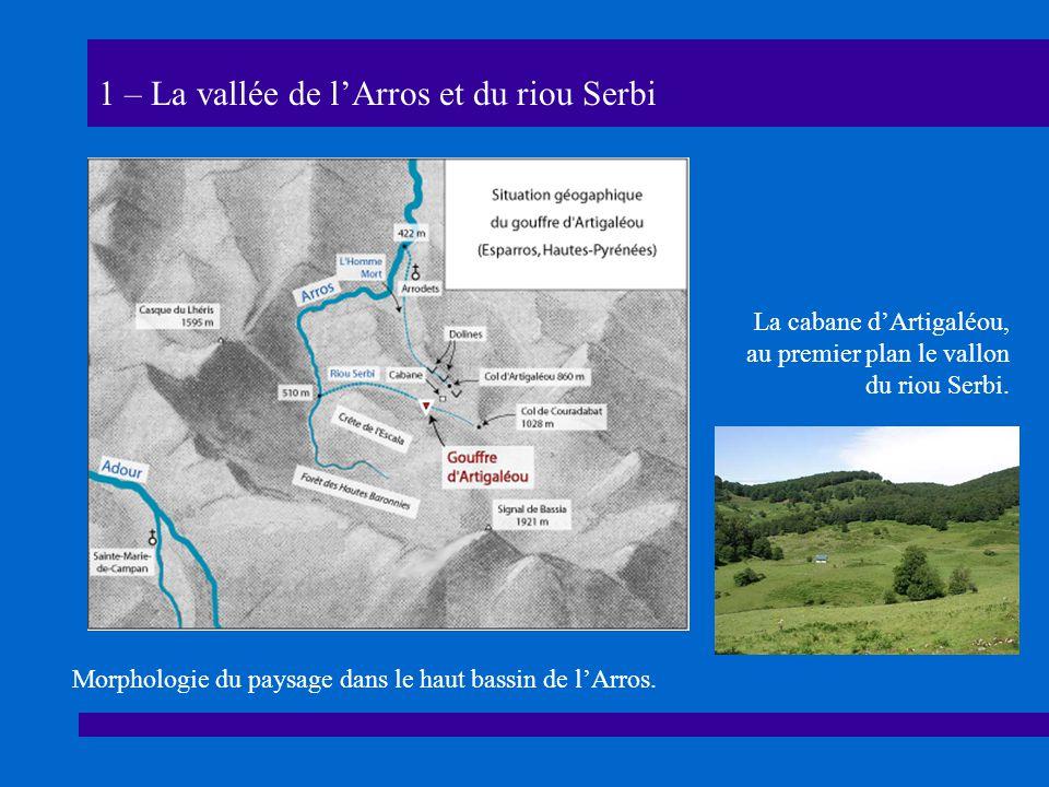 1 – La vallée de l'Arros et du riou Serbi