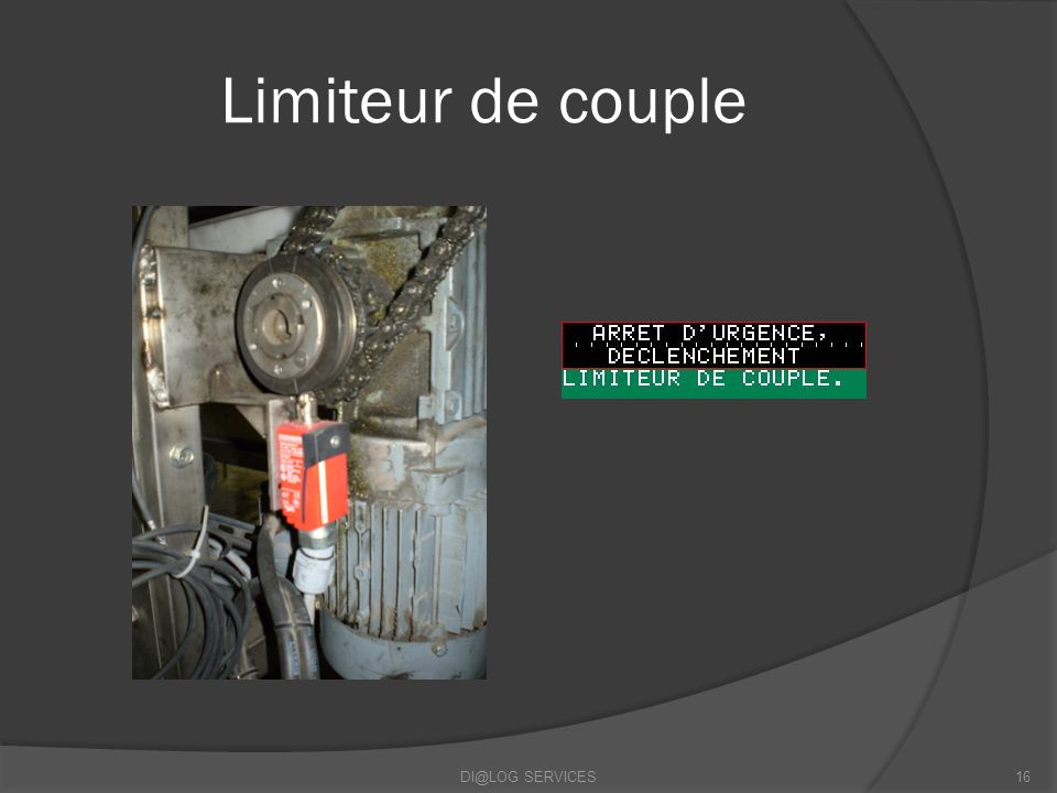 Limiteur de couple DI@LOG SERVICES