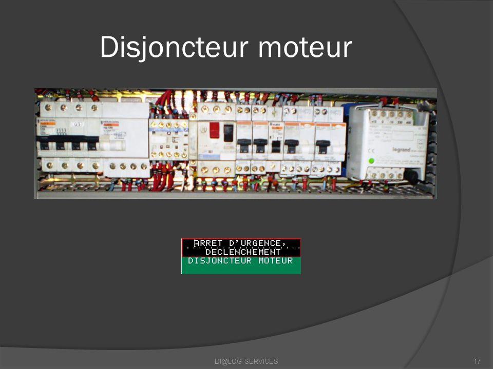 Disjoncteur moteur DI@LOG SERVICES