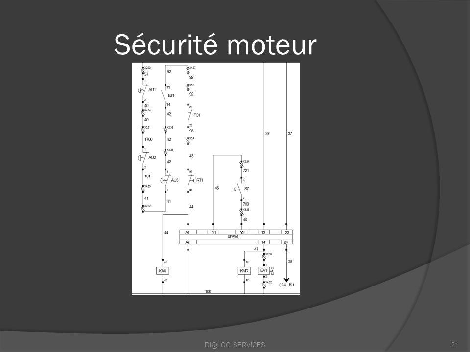 Sécurité moteur DI@LOG SERVICES