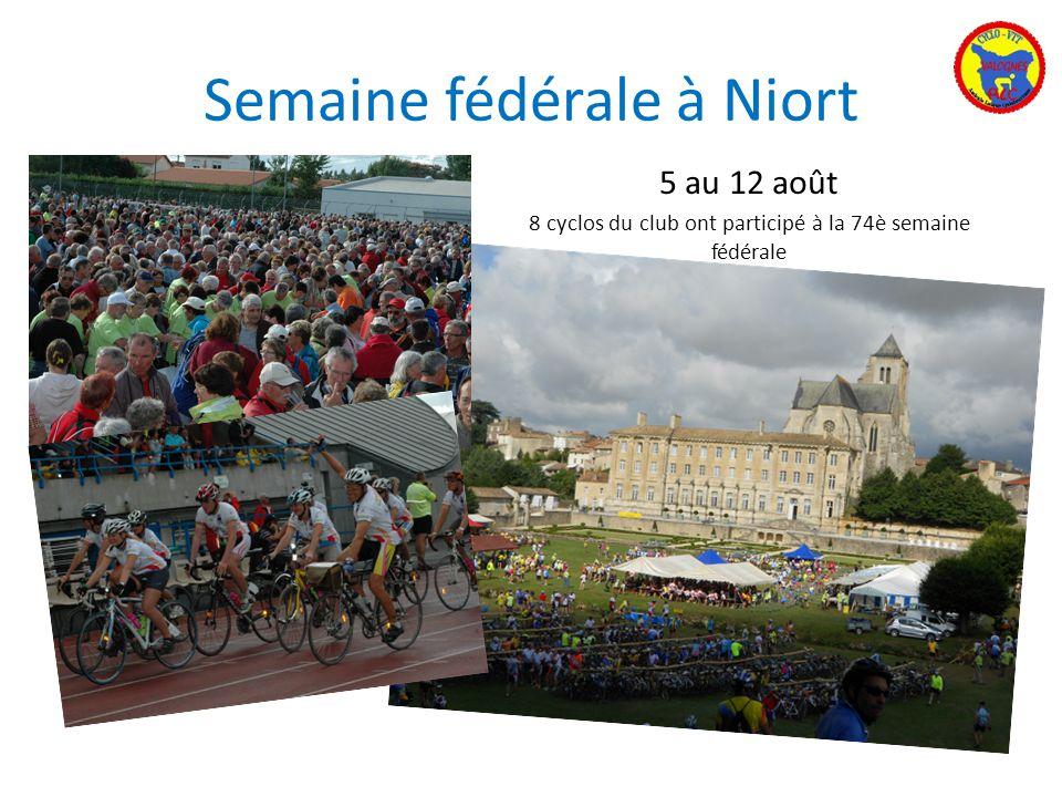 Semaine fédérale à Niort