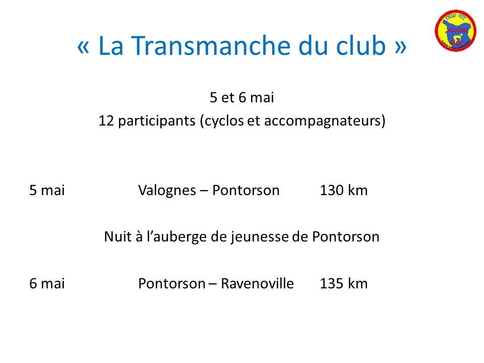« La Transmanche du club »