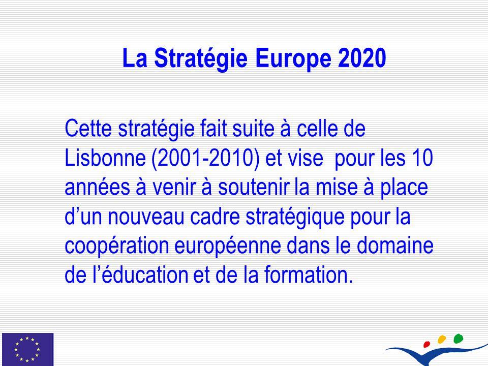 La Stratégie Europe 2020