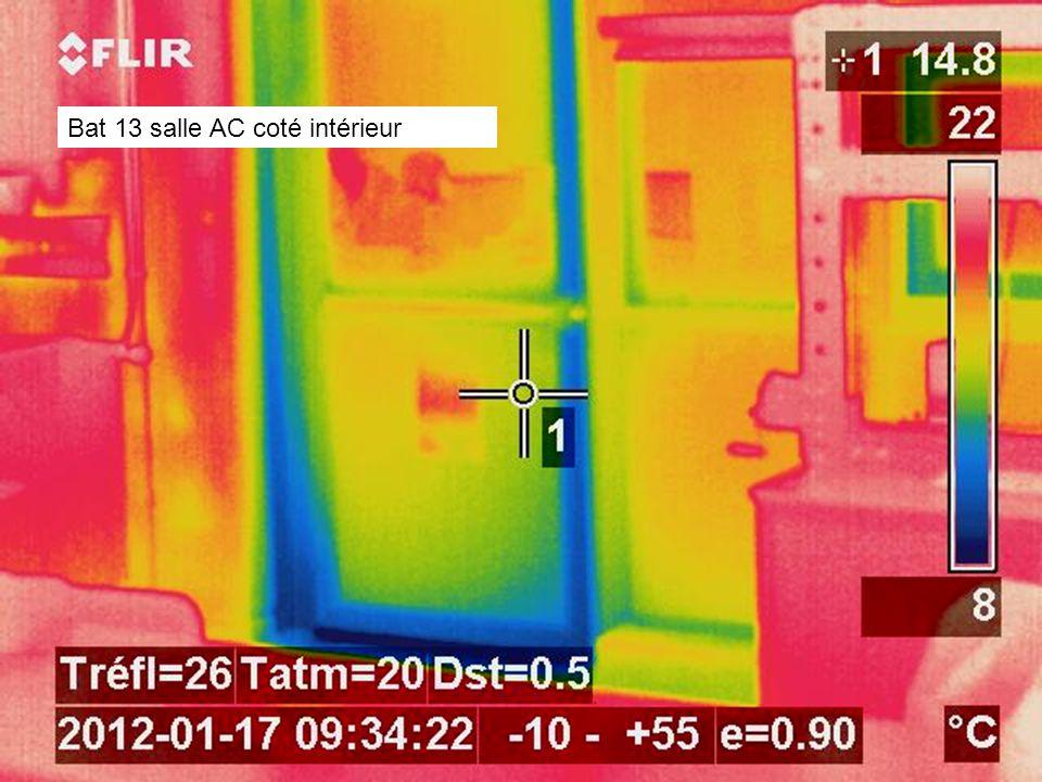 Bat 13 salle AC coté intérieur