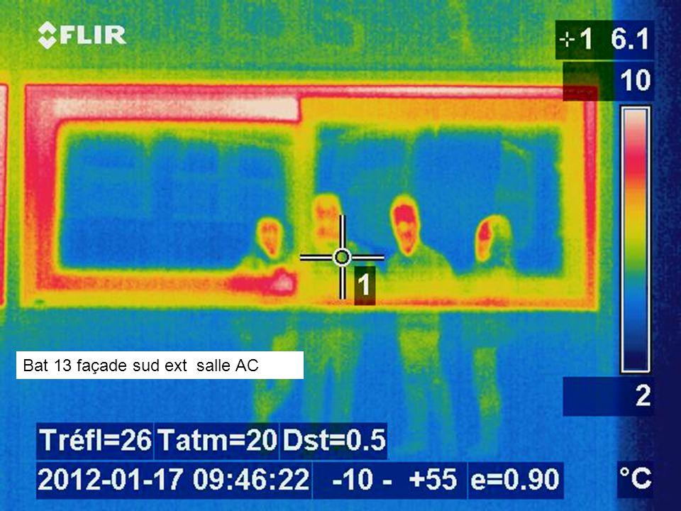 Bat 13 façade sud ext salle AC